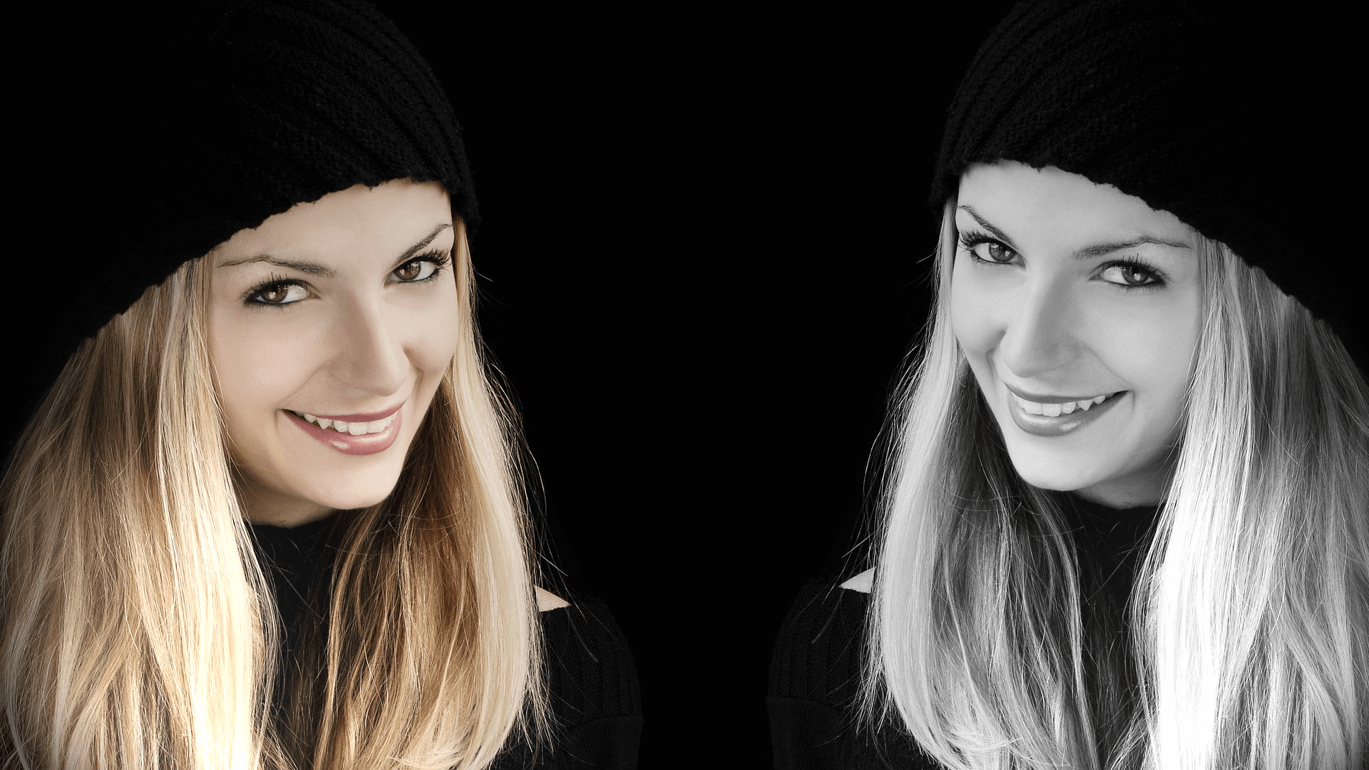 Femme blonde du centre dentaire des basses-laurentides